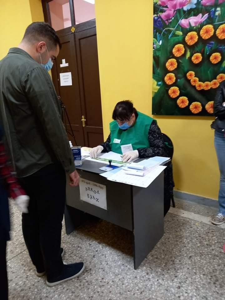 ქუთაისში ხმა ამომრჩეველთა 47,62 %-მა მისცა